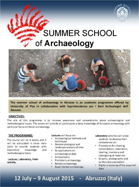 Summer School of Archaeology - University of Pisa (2015)_Page_1